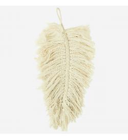 Grande plume décorative -...