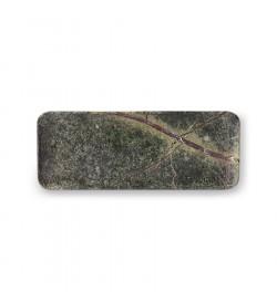 Plateau en marbre vert -...