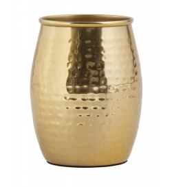 Tumbler, hammered, golden...