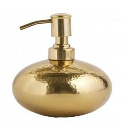 Distributeur de savon doré...