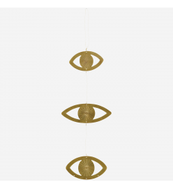 HANGING EYE ORNAMENTS W/...