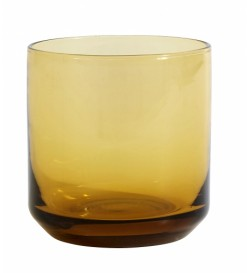 RETRO amber glass