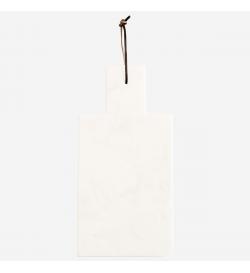 Planche Marbre lanière cuir