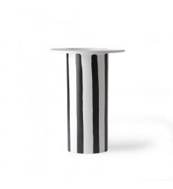 ceramic vase black/white...