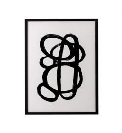 Illustration w. frame