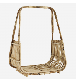 Open cane basket