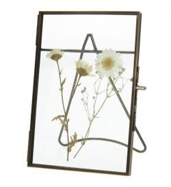 Dried flowers frame