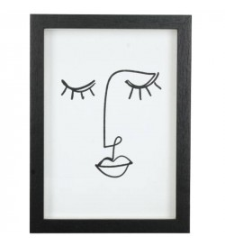 Abstract face frame