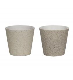 Duo Bougeoir céramique
