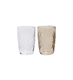 Duo Bougeoirs verre