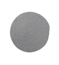 Bloomingville--DECO--CUISINE--32700008--Set-de-table-rond,-gris